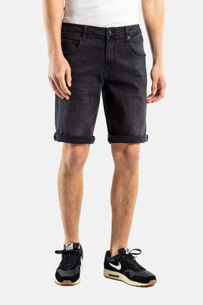 REELL - RAFTER 2 SHORT Hose black denim