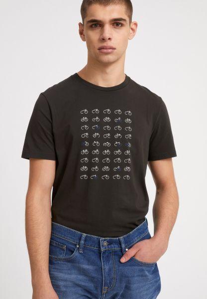 ARMEDANGELS - JAAMES 45 BIKES T-Shirt dark pine
