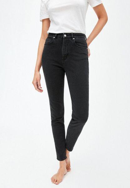 ARMEDANGELS - INGAA HIGH WAIST SKINNY Jeans washed down black