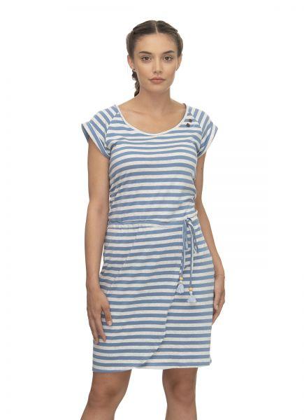 RAGWEAR - GLITTER ORGANIC DRESS Kleid blue