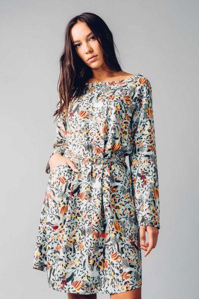SKFK - UHABIA DRESS Kleid G5 multicolor print