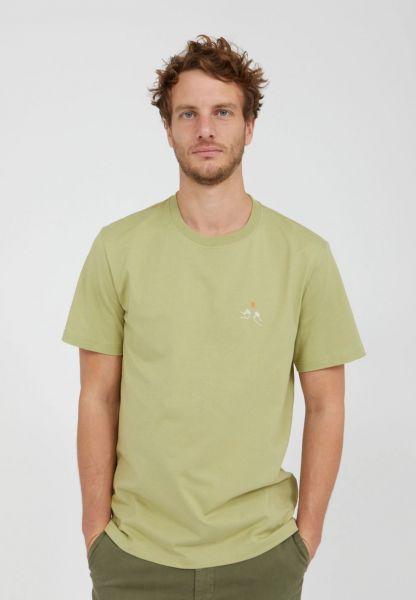 ARMEDANGELS - AADO CHECK T-Shirt sage