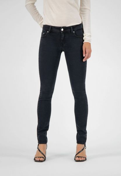 MUD JEANS- SKINNY LILLY Jeans stone black