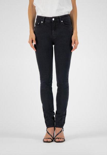 MUD JEANS - SKINNY HAZEN Jeans stone black