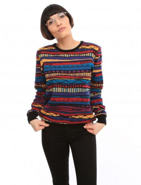 IRIE DAILY - RUDY KNIT Pullover colored