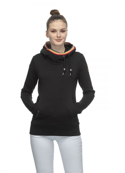 RAGWEAR - ERMELL Hoody Sweatshirt black
