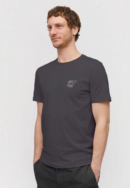 ARMEDANGELS - JAAMES STRUGGLE  T-Shirt acid black