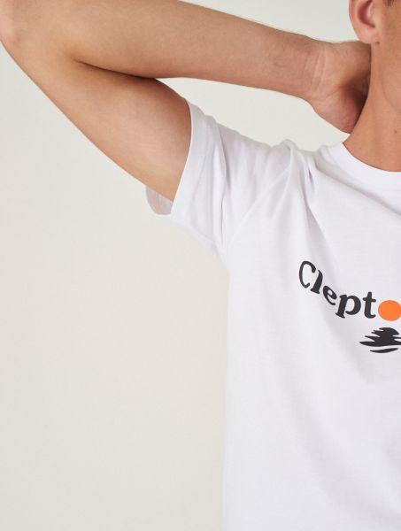 CLEPTOMANICX - CLEPTO SUN Shirt white