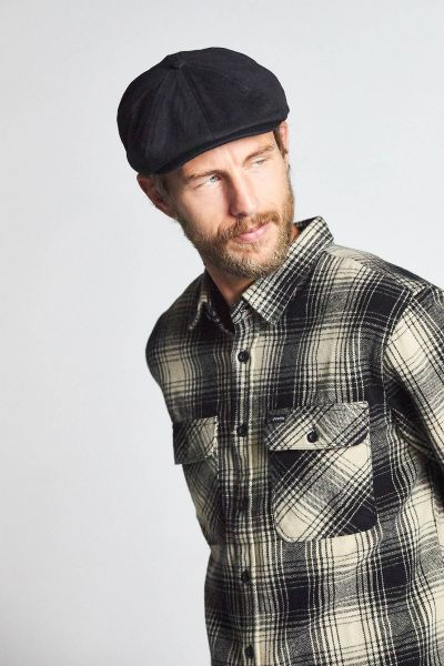 BRIXTON - BROOD SNAP CAP Mütze black