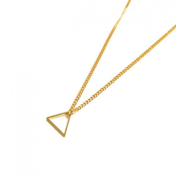 POTIPOTI - GEOMETRIC SMALL TRIANGLE Halskette