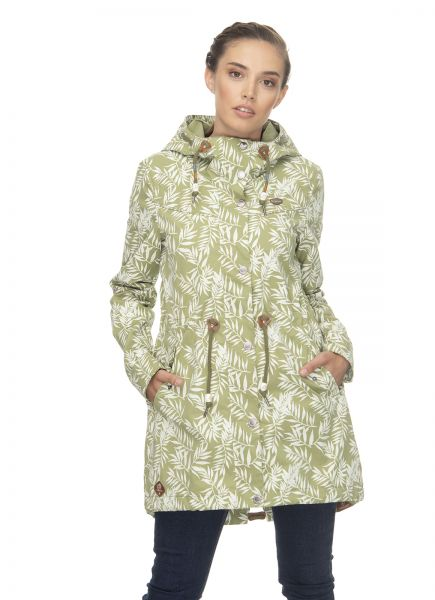 RAGWEAR- CANNY LEAVES Jacke light olive