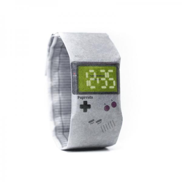 PAPRCUTS WATCH GAMEBOY - Armbanduhr aus Papier