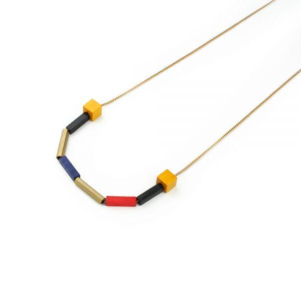 POTIPOTI - MODRIAN 2 Halskette