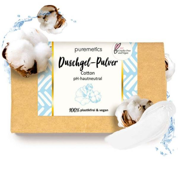 Puremetics - Duschgel 'Cotton'