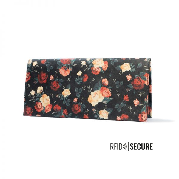 PAPRCUTS - FLOWERS RFID SECURE Portemonnaie XL