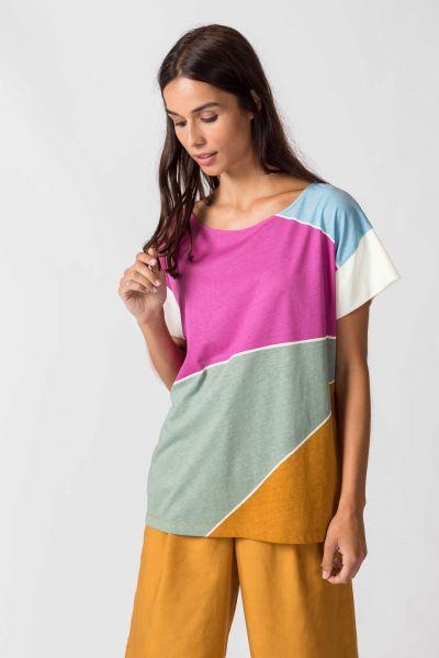 SKFK - KATTALIN T-Shirt P6 fuchsia