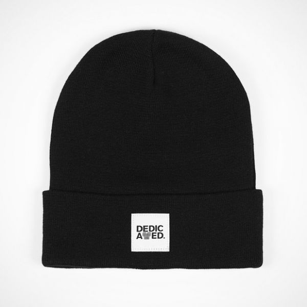 DEDICATED - KIRUNA BEANIE Mütze black