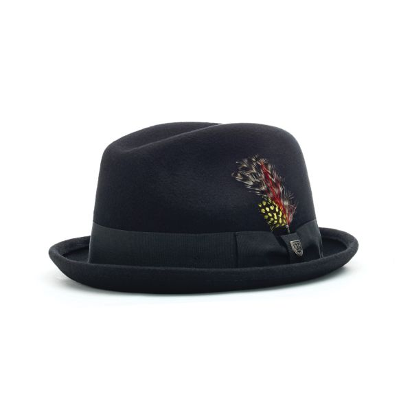 BRIXTON - GAIN FEDORA Hut black