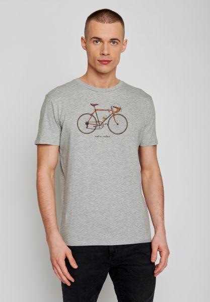 GREENBOMB - BIKE 51 Guide T-Shirt heather grey