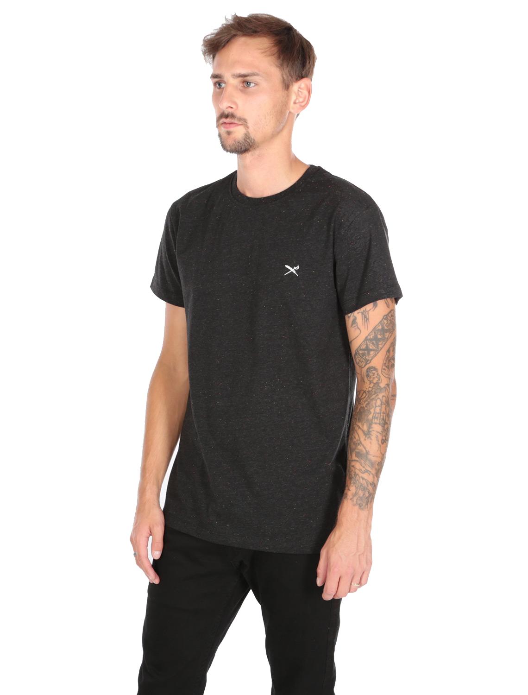 IRIE-DAILY-RETAIN-TEE-T-Shirt-black-melange-3