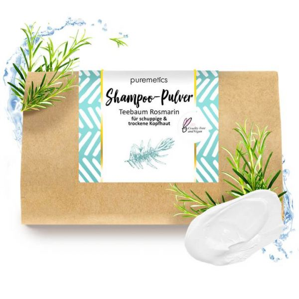 Puremetics - Shampoo 'Teebaum Rosmarin'
