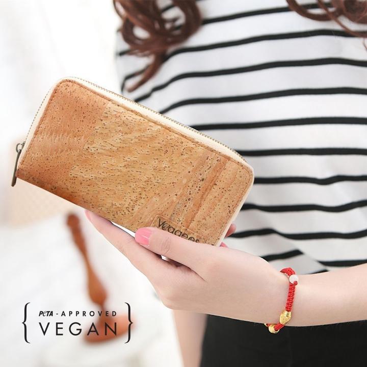 VEGGEES-NATURELL-RFID-BLOCK-Kork-Portemonnaie-XL-2
