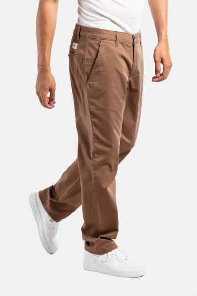 REELL - REGULAR FLEX CHINO Hose brown