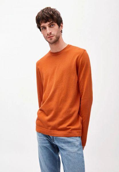 ARMEDANGELS - LAADO Pullover dark orange