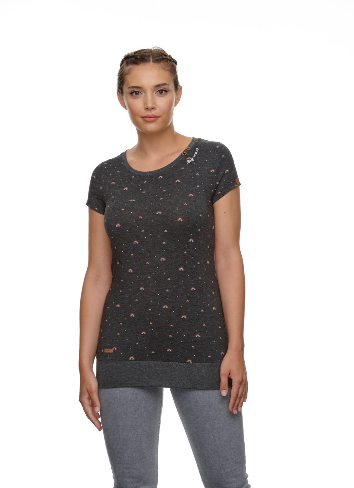 RAGWEAR-LESLY-RAINBOW-Shirt-black