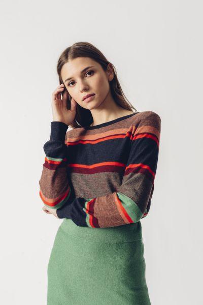 SKFK - IRADI SWEATER Pullover B9 multicolor stripes
