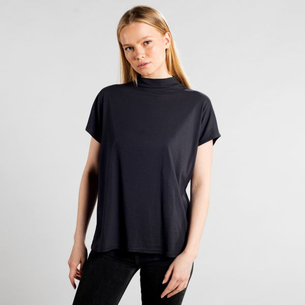 DEDICATED - FLOR TOP T-shirt charcoal