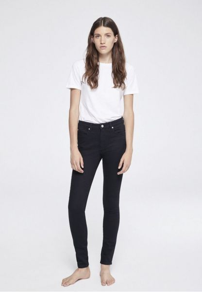 ARMEDANGELS - TILLY SKINNY FIT rinse black