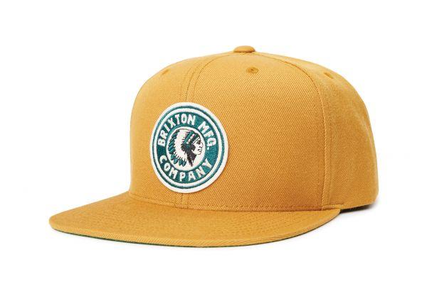 BRIXTON - RIVAL SNAPBACK CAP Mütze maize