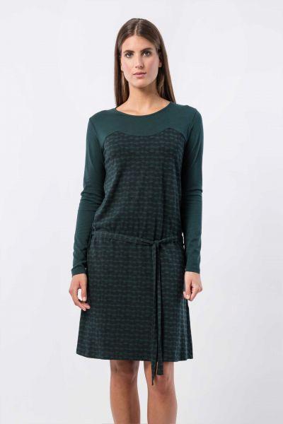 SKUNKFUNK - TERESE  DRESS Kleid dark green