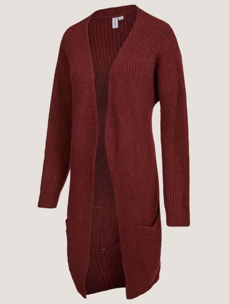 CLEPTOMANICX - STAY COOL CARDIGAN Strickjacke windsor wine