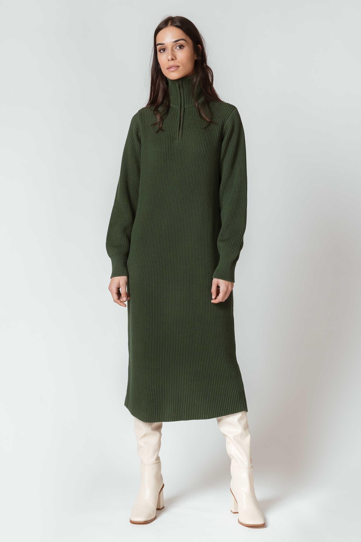 SKFK-GERGORE-DRESS-Kleid-G9-dark-green