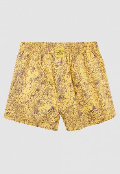 LOUSY LIVIN - TROPICAL Boxershorts yellow
