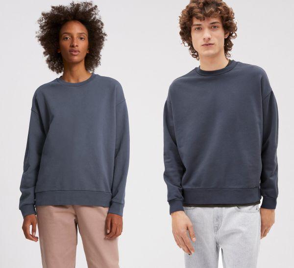 ARMEDANGELS - AARIN EARTHCOLORS Sweatshirt natural indigo