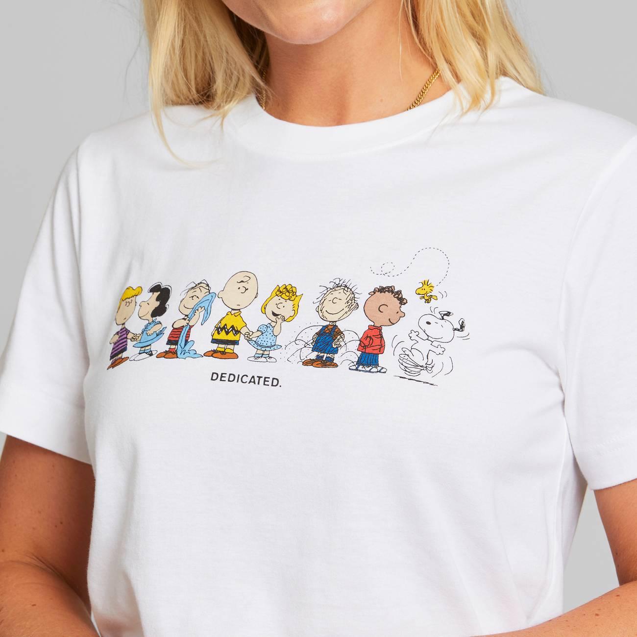 DEDICATED-PEANUTS-CREW-MYSEN-T-Shirt-white-2