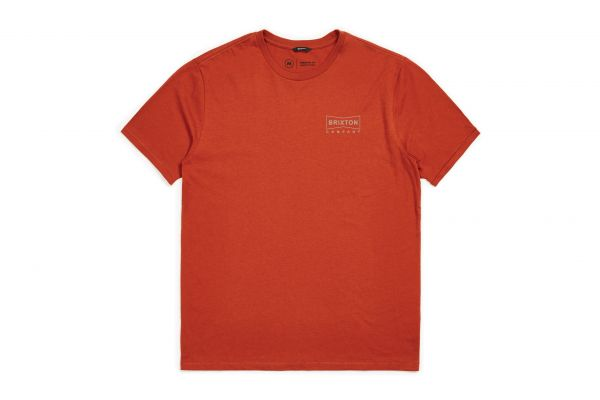 BRIXTON - WEDGE S/S PRT Shirt picante