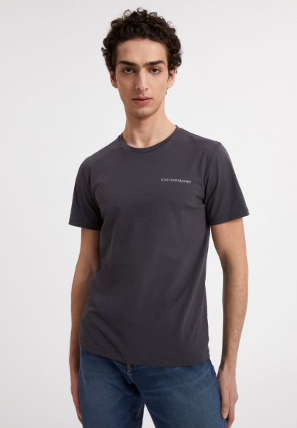 ARMEDANGELS - JAAMES STATEMENT T-Shirt acid black