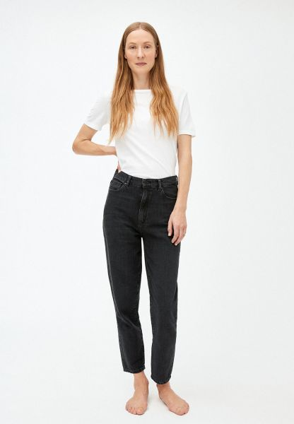 ARMEDANGELS - MAIRAA HIGH WAIST Jeans washed down black