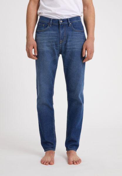 ARMEDANGELS - AARO Tapered Fit Denim Jeans dark blueberry
