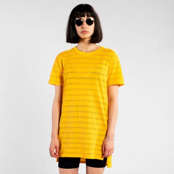 DEDICATED - ALTA LACE JERSEY Dress yellow