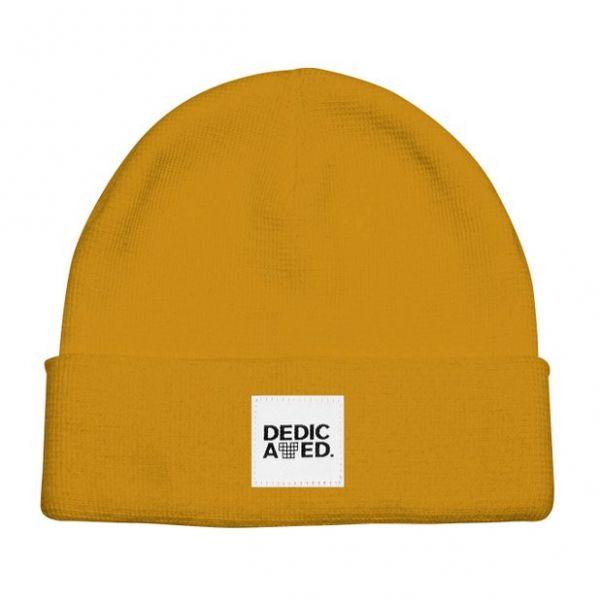 DEDICATED - KIRUNA BEANIE Mütze golden yellow