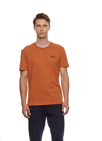 RAGWEAR - VADE ORGANIC T- Shirt cinnamon