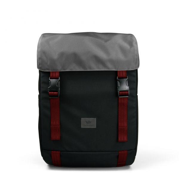FREIBEUTLER - ANTE - Rucksack red strap