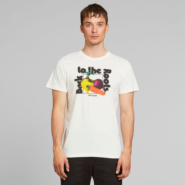 DEDICATED - THE ROOTS Stockholm Shirt Off-White