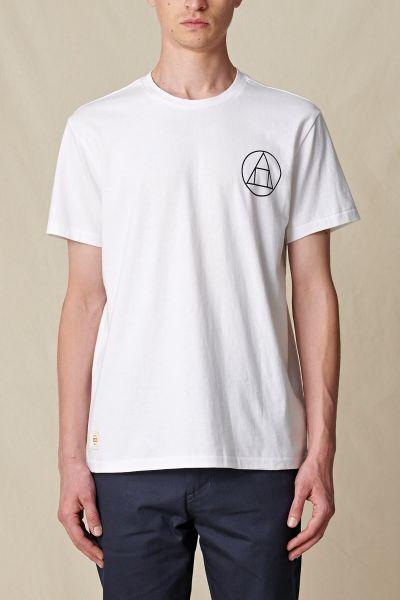 GLOBE - INFINITY STACK TEE T-Shirt white