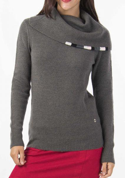 SKUNKFUNK GERGOANA Sweater dark grey